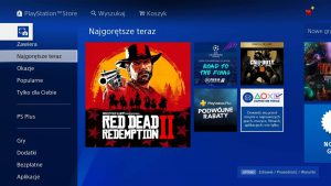 Playstation Store Gry na konsole PS4